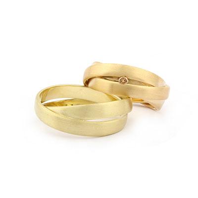 Trouwringen van meerdere ringen