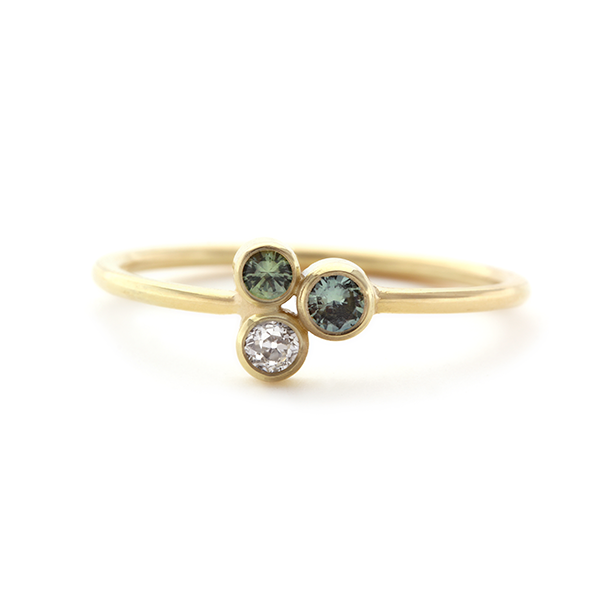 Cutie ring | Saffierring | Verlovingsring