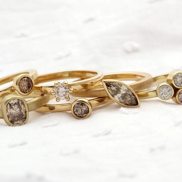 Handgemaakte trouwringen van Atelier LUZ