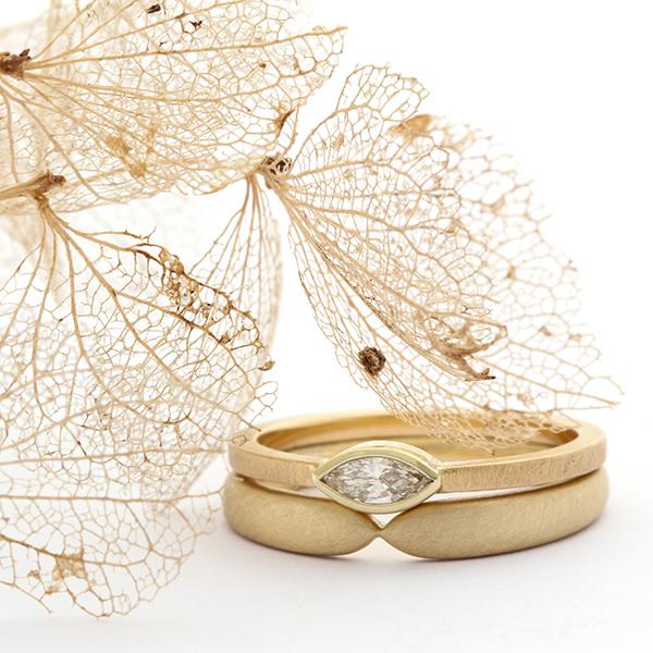 Handgemaakte trouwringen en verlovingsringen van Atelier LUZ